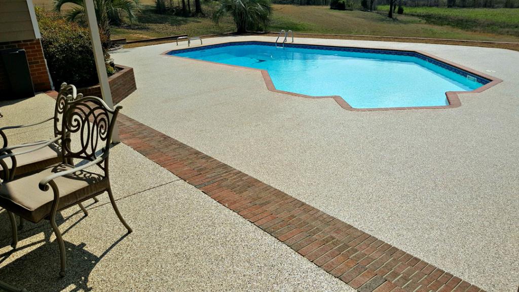 Graniflex Pool Deck | Decorative Concrete Washington