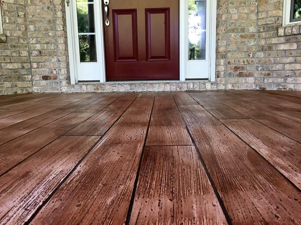 Rustic Concrete Wood | Decorative Concrete Washington