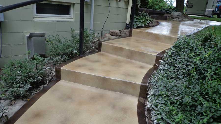Stained Concrete | Decorative Concrete Washington