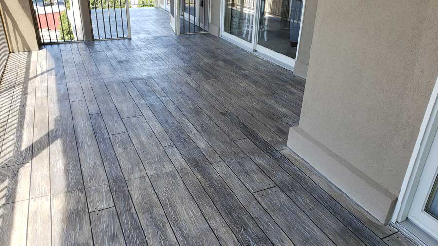 Rustic Concrete Wood | Custom Concrete Design
