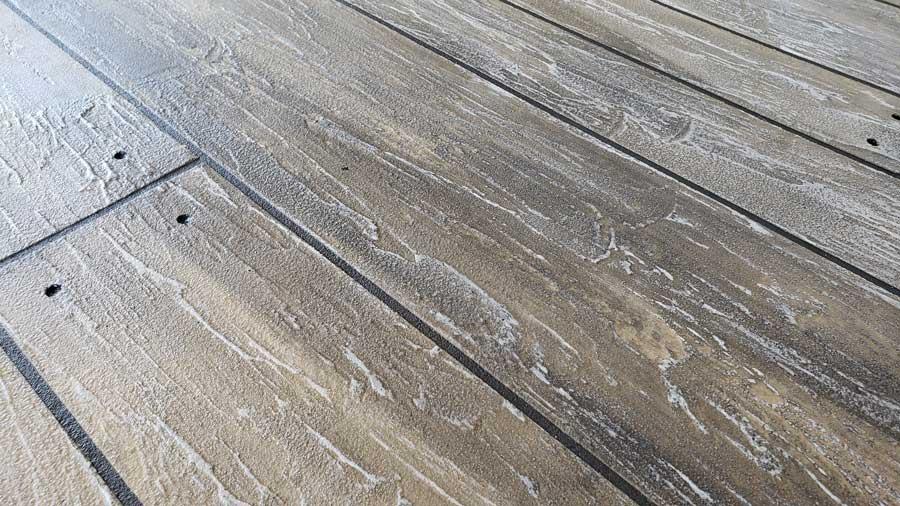 Rustic Concrete Wood | Lake Ozark | Custom Concrete Design