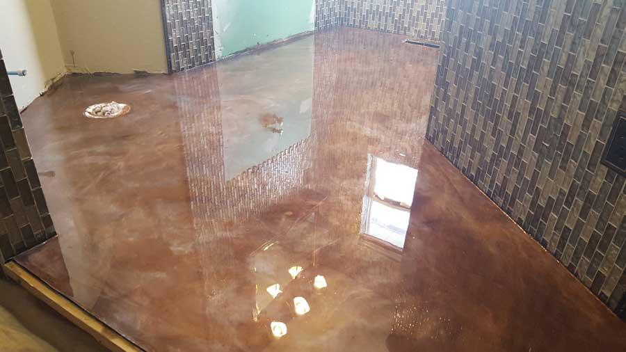 Metallic Marble Epoxy | Decorative Concrete Washington